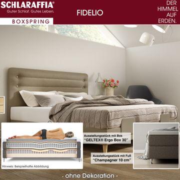 Schlaraffia Fidelio Boxspringbett 180x200 cm inkl. GELTEX® Quantum Matratzen H2 & H3 – Bild 2