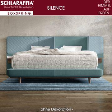 Schlaraffia Silence Nachtkonsole Eiche Box Plattform Boxspringbett 200x200 cm – Bild 1