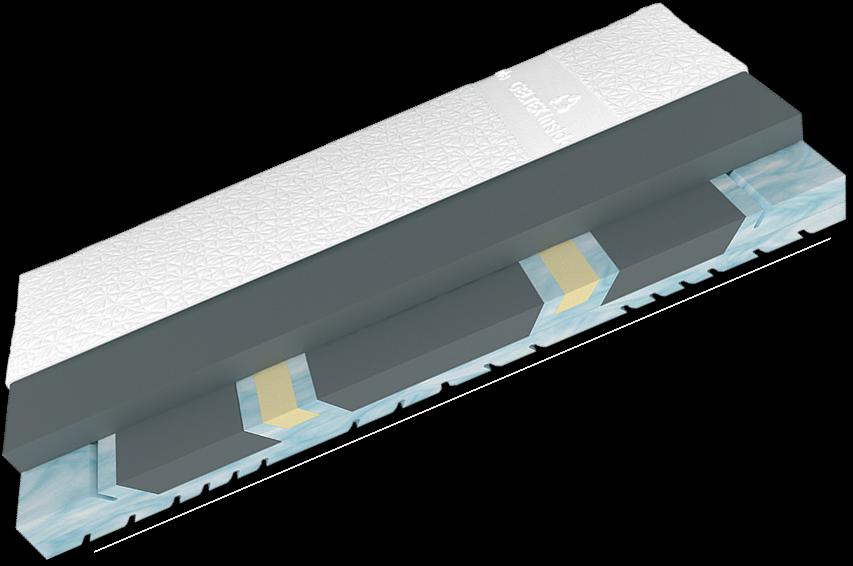 schlaraffia matratze moon 8sx geltex inside 140x200 h2 schlafen matratzen 140 x 200cm. Black Bedroom Furniture Sets. Home Design Ideas