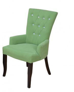 Stuhl-/Polstersessel grün, 086-f.8531.1GRS von Heinz Hofmann  – Bild 1