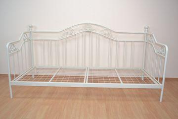 Day-Bed/Metallbett 90x200cm, weiß pulverbeschichtet, 9108.W von Heinz Hofmann – Bild 2