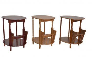 Ovaler Beistelltisch Eiche rustikal, 029-2976.ER von Heinz Hofmann – Bild 2