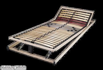 Schlaraffia Basic 28 KF verstellbarer 5-Zonen Lattenrost 80x220 cm – Bild 2