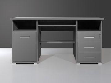 Germania 0484-58, Schreibtisch in Anthrazit Dekor – Bild 2