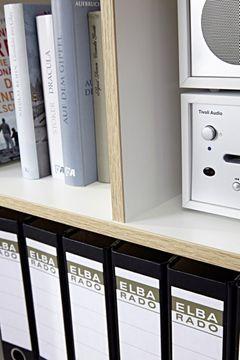 Germania Büro-Kombination Oslo 6, Weiß Dekor/Sanremo Eiche Nb – Bild 11