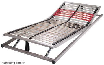 Schlaraffia Classic 28 KF 5-Zonen verstellbarer Lattenrost 100x210 cm – Bild 2