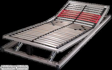 Schlaraffia Classic 28 KF 5-Zonen verstellbarer Lattenrost 90x220 cm – Bild 2