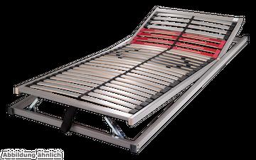 Schlaraffia Classic 28 Gasdruck 5-Zonen verstellbarer Lattenrost 80x220 cm – Bild 2