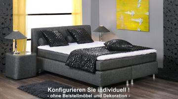 oschmann boxspringbett luxus 160x200 cm individuell konfigurierbar hersteller oschmann. Black Bedroom Furniture Sets. Home Design Ideas