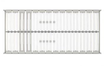 Schlaraffia Classic 28 Plus NV (NC-17) 5-Zonen Lattenrost 80x220 cm – Bild 3