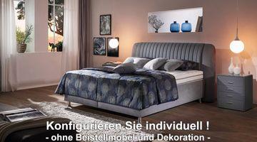 Oschmann Polsterbett Anniva Jubiläum 160x200 individuell konfigurierbar – Bild 1