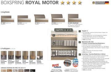 Oschmann Boxspringbett Royal Motor 180x200 cm – Bild 5