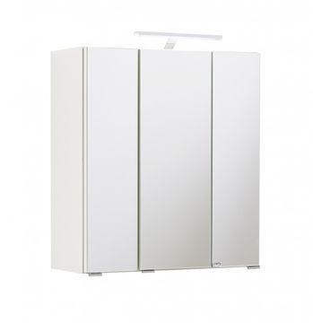 Spiegelschrank 60 cm (inkl. Beleuchtung) Weiß Capri Held Möbel 003.1.0001