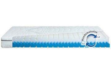 Diamona Frauenmatratze Komfortschaum 120x210 cm H2/H3 (Wendematratze)