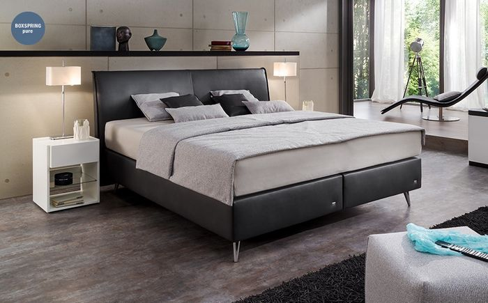 ruf boxspringbett amado hersteller ruf boxspringbetten amado. Black Bedroom Furniture Sets. Home Design Ideas