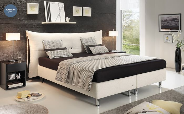 ruf boxspringbett santino onletto. Black Bedroom Furniture Sets. Home Design Ideas