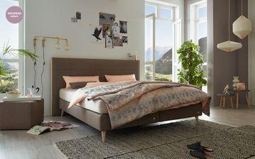 Ruf Boxspringbett Mio KT-HR, 160x210cm, Kunstleder 6739