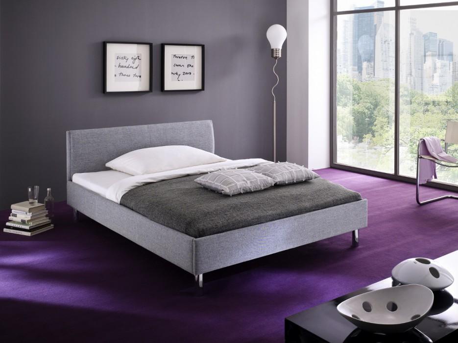 meise polsterbett hip hop in stoff grau 140x200 cm hersteller meise m bel polsterbetten hip hop. Black Bedroom Furniture Sets. Home Design Ideas