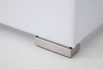 Meise Polsterbett Isa Comfort in Kunstleder weiß 160x200 cm – Bild 2