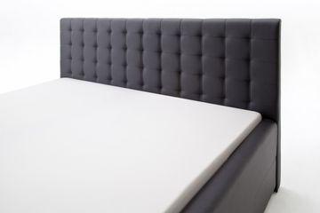 Meise Polsterbett Toronto in Kunstleder schwarz 180x200 cm, inkl. Bettkasten, Federholzrahmen – Bild 6