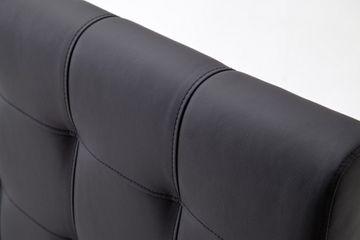 Meise Polsterbett Toronto in Kunstleder schwarz 180x200 cm, inkl. Bettkasten, Federholzrahmen – Bild 10