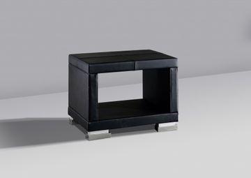Meise Nachtkonsole Paso in Kunstleder schwarz – Bild 1