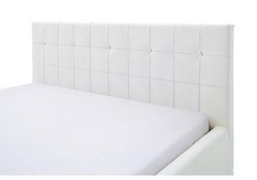 Meise Polsterbett Cristallo in Kunstleder weiß 140x200 cm – Bild 5