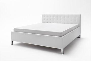 Meise Polsterbett Avola in Kunstleder weiß 180x200 cm – Bild 4