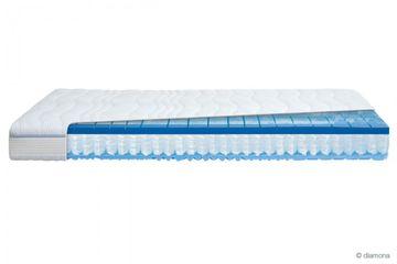 Diamona blue activ® GTI Partnermatratze 160x210 cm H2/H3 (2 Kerne in 1 Bezug)