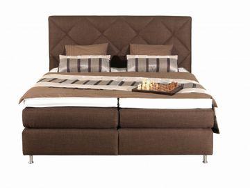 ADA premium Boxspringbett Oriental braun 200x200 cm – Bild 3