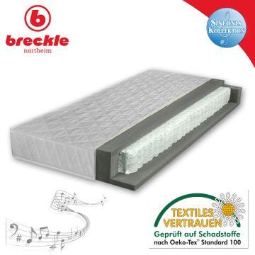 Breckle Sinfonia 300 TFK 100x190 cm H2 Taschenfederkernmatratze – Bild 1