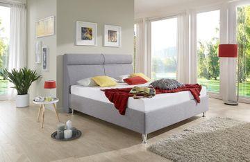 Breckle Polsterbett Weaver Comfort grau 200x220 cm