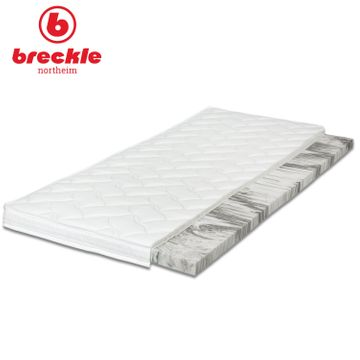Breckle Boxspringbett Arga Preime 200x200 cm inkl. Topper 3700 (Gelschaum) und Kissenset – Bild 4