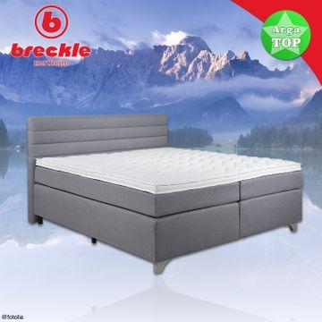 Breckle Boxspringbett Arga Top 140x220 cm – Bild 6