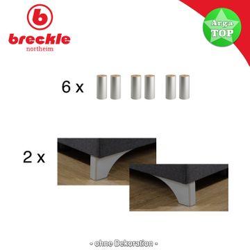 Breckle Boxspringbett Arga Top 180x220 cm – Bild 5