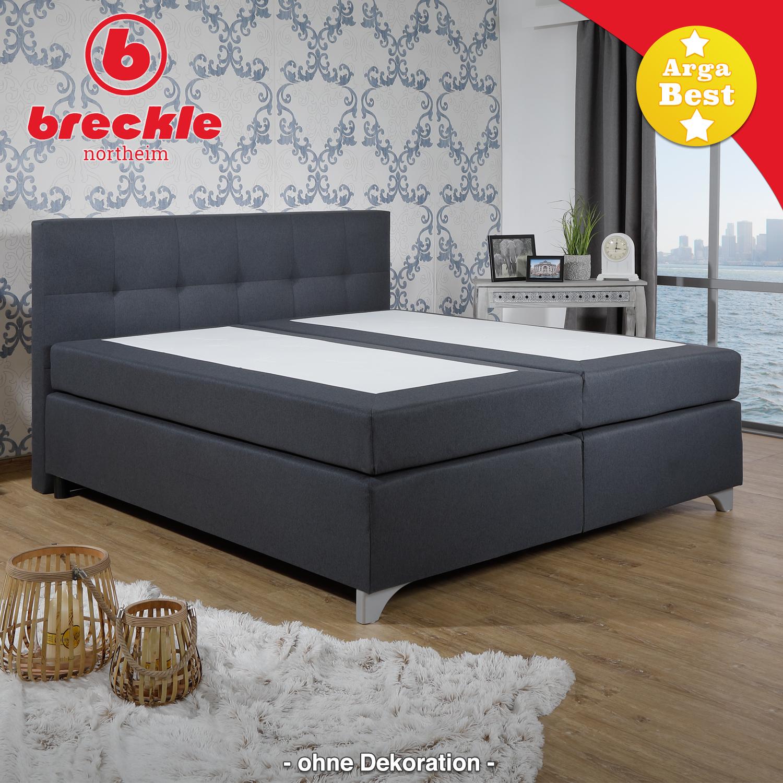 breckle boxspringbett arga best 200x200 cm schlafen boxspringbetten breckle arga best. Black Bedroom Furniture Sets. Home Design Ideas