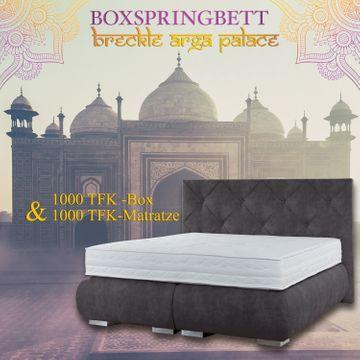 Breckle Boxspringbett Arga Palace 120x210 cm – Bild 6