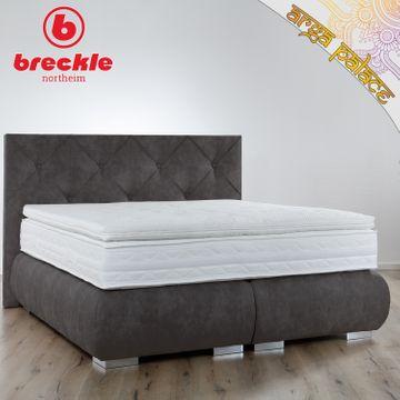 Breckle Boxspringbett Arga Palace 140x210 cm inkl. Gel-Topper Platin Premium – Bild 1