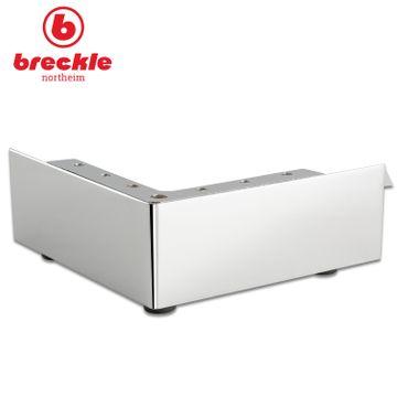 Breckle Boxspringbett Arga Palace 180x200 cm inkl. Gel-Topper Platin Premium & Kissenset – Bild 6