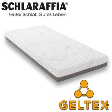Schlaraffia GELTEX Quantum 180 Matratze 90x220 cm H3 Gelschaum – Bild 1