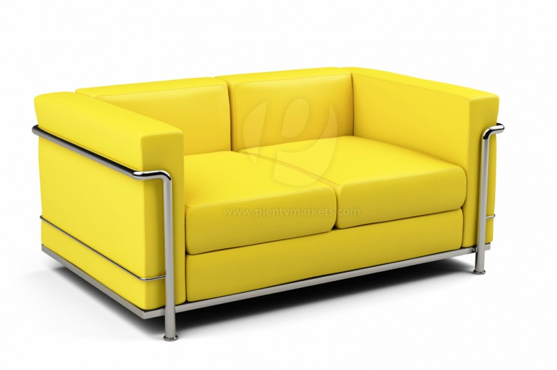 sofa 2 sitzer sunflower wohnzimmer sofas. Black Bedroom Furniture Sets. Home Design Ideas