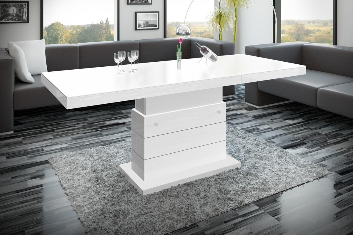 design couchtisch h 333 wei matt hochglanz kombination. Black Bedroom Furniture Sets. Home Design Ideas