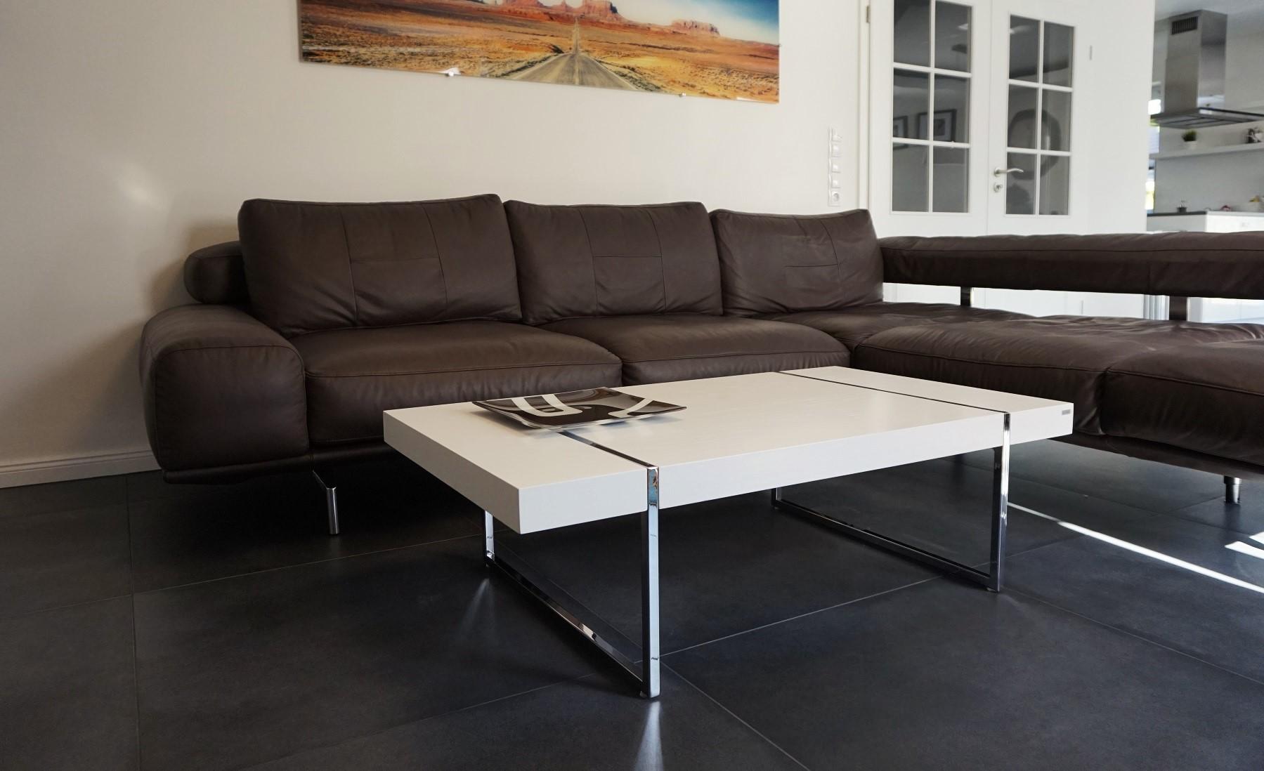 Design Couchtisch Tisch Wohnzimmertisch S 111 Carl Svensson Weiss