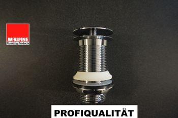 """Bild 6 - Design Schaftventil McAlpine DWU60-CB nicht verschließbar ohne Überlauf 5/4"""" x 60mm"""