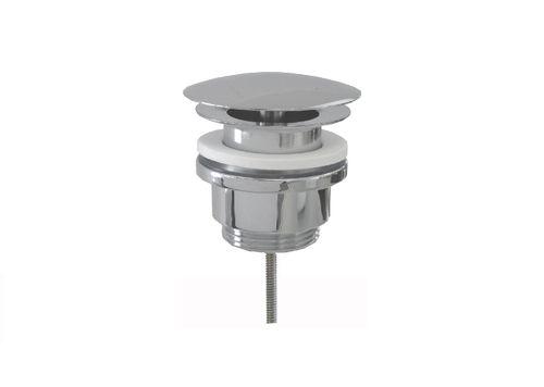 """Design Schaftventil universal DWU72-UNI-CB nicht verschließbar mit Permanentablauf 5/4"""" x Ø 72mm"""