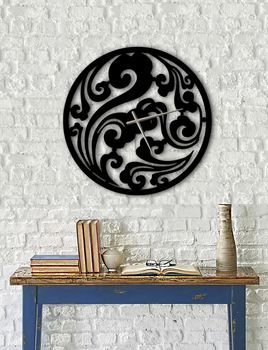 Design Metall Wanduhr Uhr Archtwain Studio Design WU-103