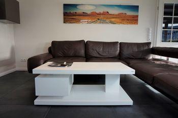Bild 3 - Design Couchtisch Tisch G-18 Weiß Schublade Stauraum Carl Svensson