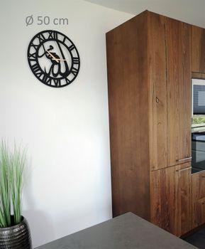 Bild 3 - Design Metall Wanduhr Allah Muhammed Römische Zahlen Uhr Archtwain Studio Design WU-111