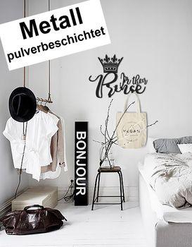 Design 3D Garderobe Kleiderhaken 35 x 25 cm Prince Prinz Deko Wanddeko Archtwain Studio Design Industrie Look MD-136