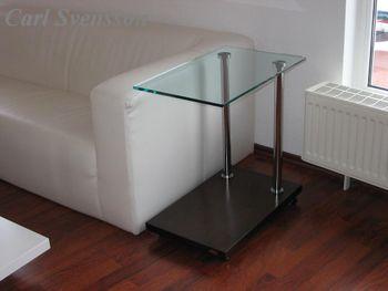 Design Beistelltisch Tisch Ecktisch V-270 Walnuss / Wenge Carl Svensson